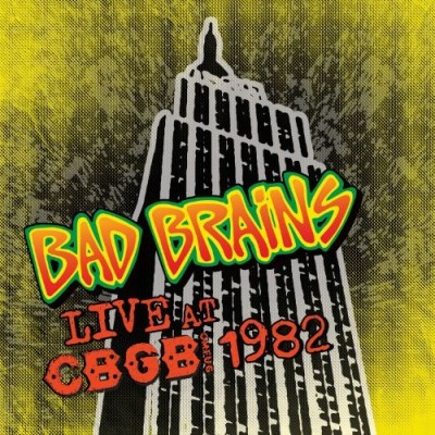 Bad Brains Live At Cbgb Colored Vinyl