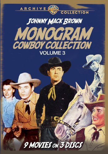 Vol. 3 Monogram Cowboy Collect Brown Johnny Mack Made On Demand Nr