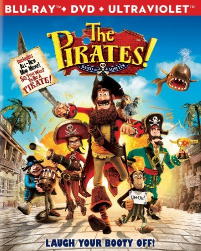 Pirates! Band Of Misfits Pirates! Band Of Misfits Blu Ray Ws Pg Incl. DVD Uv