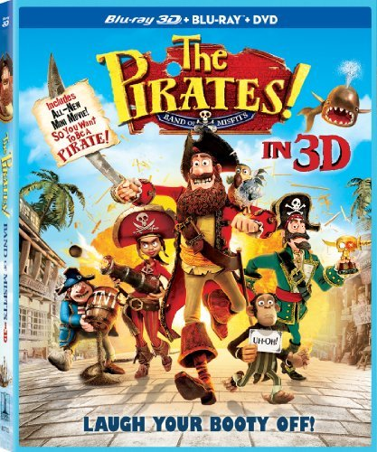 Pirates! Band Of Misfits 3d Pirates! Band Of Misfits 3d Blu Ray Ws Nr 2 Br Incl. DVD Uv