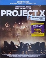 Project X (2012) Mann Brown Cooper Blu Ray Ws R Incl. DVD Dc Uv