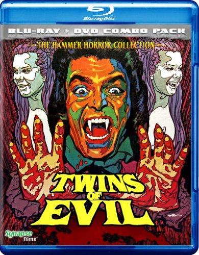 Twins Of Evil Cushing Price Warbeck Blu Ray DVD Nr