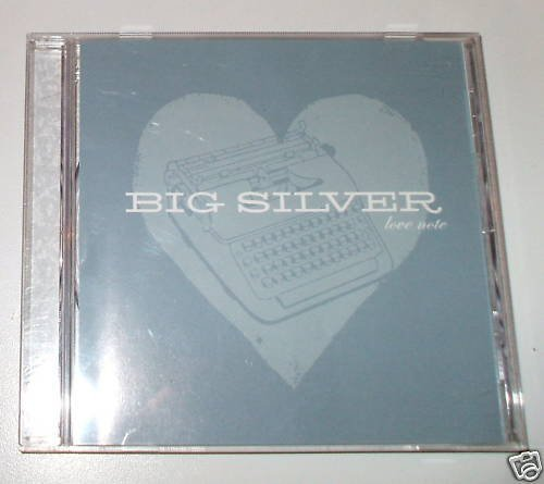 Big Silver Love Note