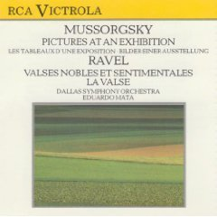 Mussorgsky Ravel Pictures At An Exhibitionvalses Nobles Et Sentimen