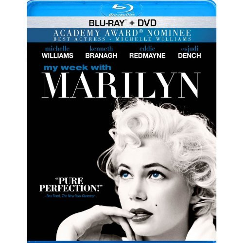 My Week With Marilyn Williams Redmayne Branagh Blu Ray Limited Edition