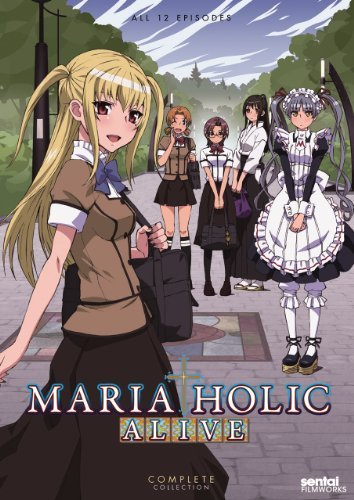 Maria Holic Alive Complete Co Maria Holic Alive! Ws Nr 2 DVD