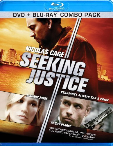 Seeking Justice Cage Jones Pearce Blu Ray Ws R Incl. DVD