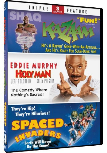 Holy Man Kazaam Spaced Invader Holy Man Kazaam Spaced Invader Ws Pg 2 DVD