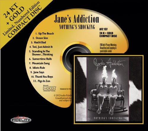 Jane's Addiction Nothing's Shocking (24k Gold)