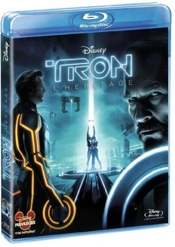 Tron Legacy Bridges Hedlund Wilde Boxleitn Blu Ray French Version