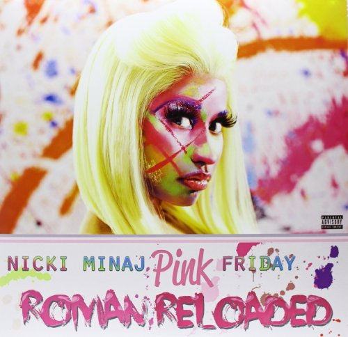 Nicki Minaj Pink Friday...Roman Reloaded Explicit Version 2 Lp