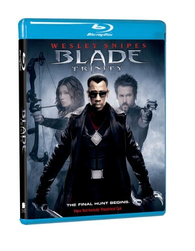 Blade Trinity Snipes Kristofferson Reynolds Blu Ray Ws Nr Incl. Movie Money