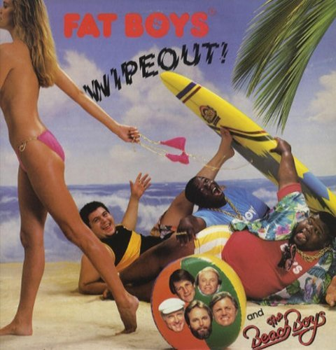 Fat Boys Wipeout (1987 & Beach Boys) Vinyl Maxi Single [ Vinyl 12'']