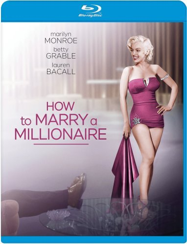 How To Marry A Millionaire Monroe Bacall Grable Blu Ray Ws Nr