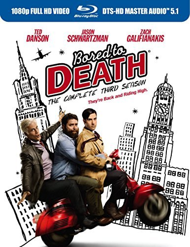 Bored To Death Bored To Death Season 3 Blu Ray Ws Tvma 2 Br