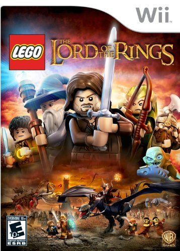 Wii Lego Lord Of The Rings Whv Games E10+