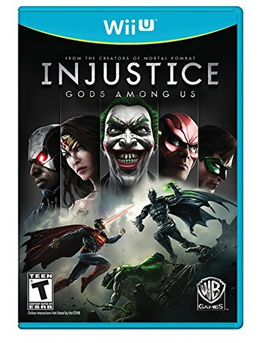 Wii U Injustice Gods Among Us Whv Games T