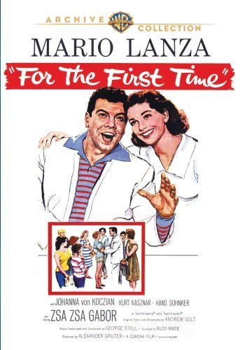 For The First Time (1959) Lanza Von Koczian Sohnker DVD Mod This Item Is Made On Demand Could Take 2 3 Weeks For Delivery