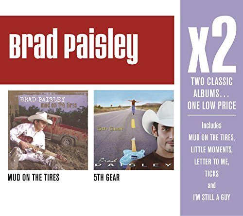 Brad Paisley X2 (mud On The Tires5th Gear) 2 CD