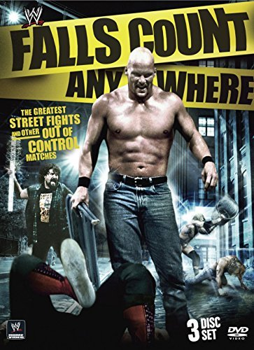 Falls Count Anywhere Matches Wwe Tvpg 3 DVD