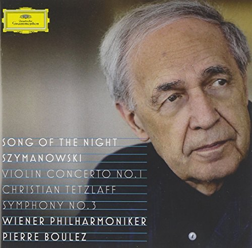 P. Boulez Song Of The Night Szymanowski Vienna Philharmonic