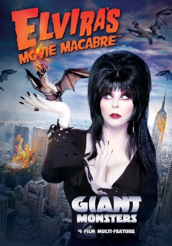 Giant Monsters Elvira's Movie Macabre Tv14 2 DVD