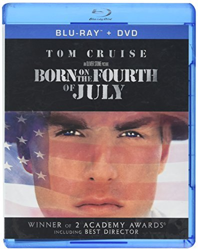 Born On The Fourth Of July Cruise Tom Blu Ray Ws R Incl. DVD Dc