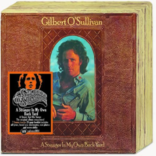 Gilbert O'sullivan Stranger In My Own Back Yard Import Gbr