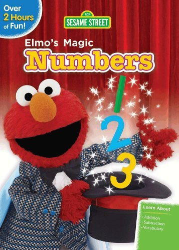 Elmo's Magic Numbers Sesame Street Nr