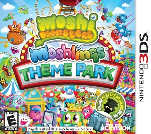 Nintendo 3ds Moshi Monsters Theme Park Activision Publishing Inc. E
