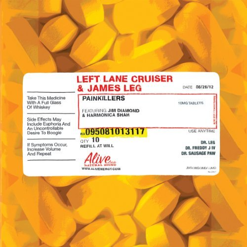 Left Lane Cruiser & James Leg Painkillers Digipak