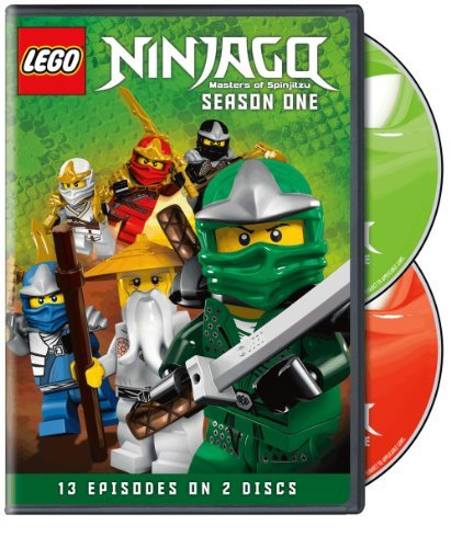 Lego Ninjago Masters Of Spinjitsu Season 1 DVD Nr
