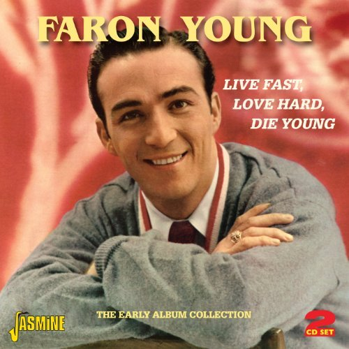 Faron Young Live Fast Love Hard Die Young Import Gbr 2 CD