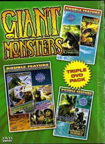 Giant Monsters Triple Pack Giant Monsters Triple Pack
