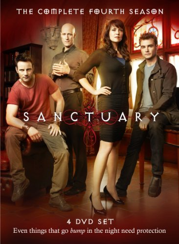 Sanctuary Season 4 DVD Tvpg 4 DVD