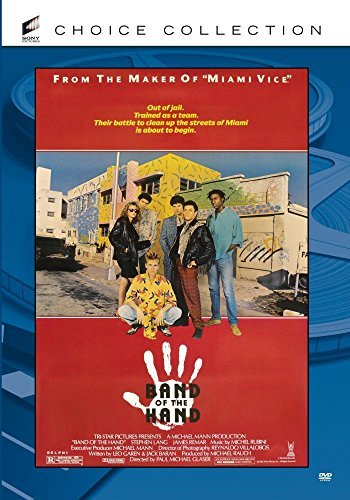 Band Of The Hand Mitchell Carmine Lang DVD R R