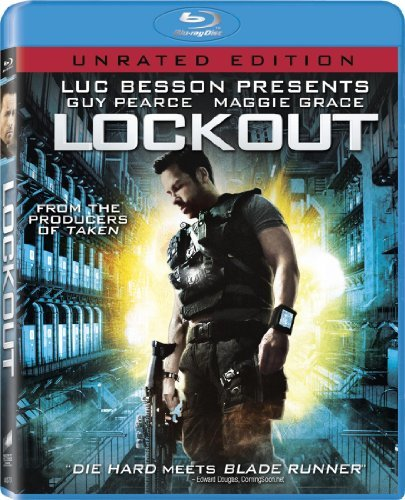 Lockout Pearce Grace Blu Ray Aws Ur Incl. Uv