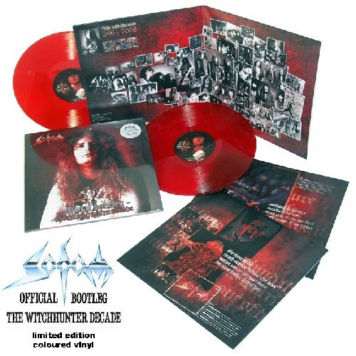 Sodom Official Bootleg The Witchhunt 2 Lp