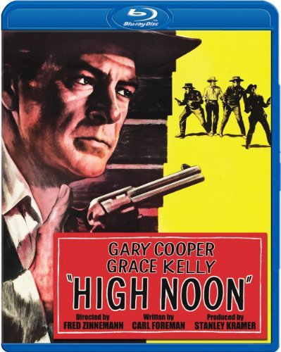 High Noon (1952) Cooper Kelly Mitchell Blu Ray Bw Ws Nr 60th Anniv