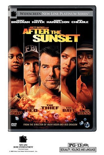 After The Sunset Brosnan Harrelson Hayek Cheadle