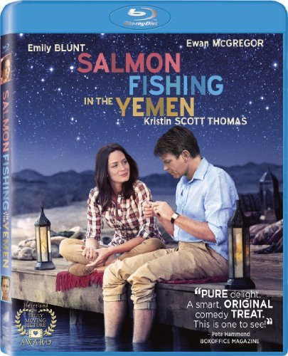 Salmon Fishing In The Yemen Mcgregor Blunt Thomas Waked Blu Ray Aws Pg13 Incl. Uv