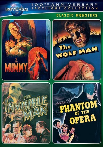 Classic Monsters Spotlight Col Classic Monsters Spotlight Col Nr 4 DVD