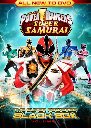 Power Rangers Super Samurai Vol. 1 Super Powered Black Box Ws Nr