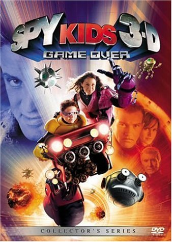 Spy Kids 3 Game Over 3d Banderas Gugino Stallone Monta 2 Disc Collector's Series