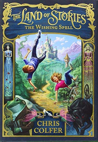 Chris Colfer Land Of Stories The The Wishing Spell