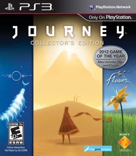 Ps3 Journey Collector's Edition Sony Computer Entertainme E10+