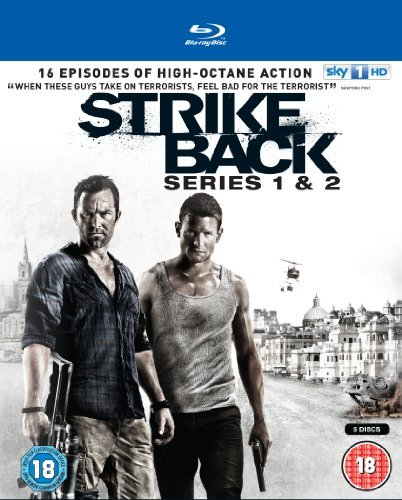 Strike Back Series 1 & 2 Blu Ray