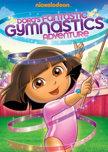 Dora's Fantastic Gymnastics Ad Dora The Explorer Nr