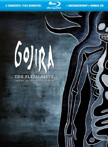 Gojira Flesh Alive Blu Ray Incl. CD