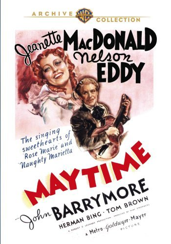 Maytime (1936) Mac Donald Eddy Barrymore Made On Demand Nr